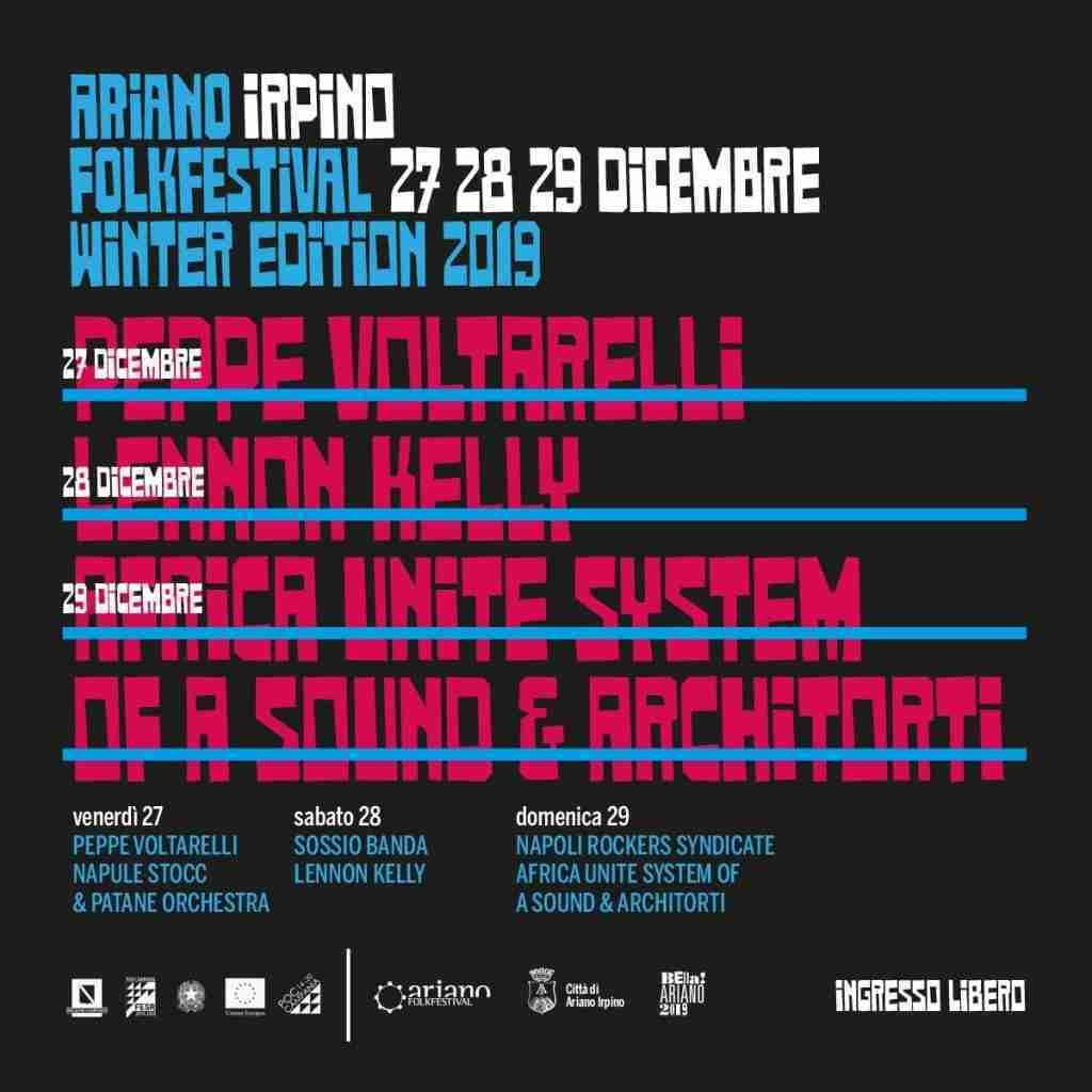 Ariano Folkfestival Winter 2019