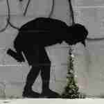 Banksy - better out than in