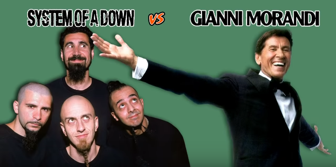 System of a down VS Gianni Morandi