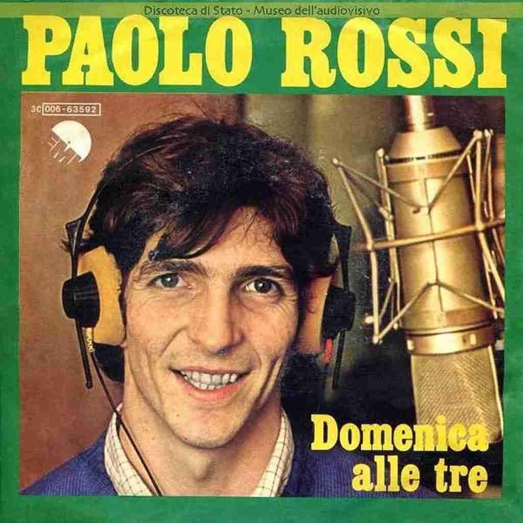 Paolo Rossi Domenica alle tre